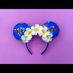 Aulani Flower Crown Ears